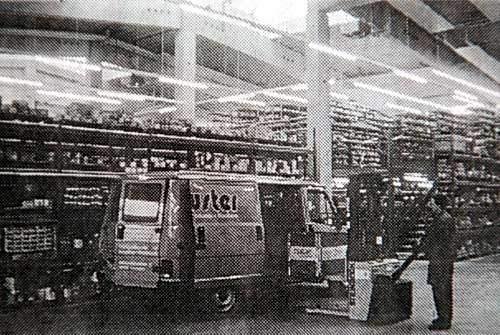 Hochregallager 1995