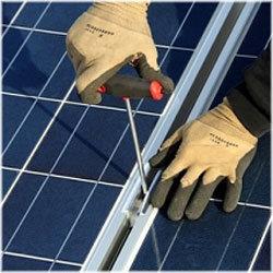 Verbindungselemente für Solartechnik